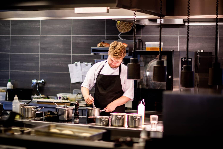 FFAfhalen in restaurant