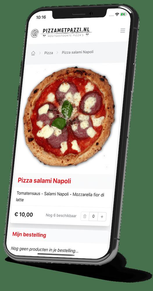 Restaurant bestel-app van FFAfhalen